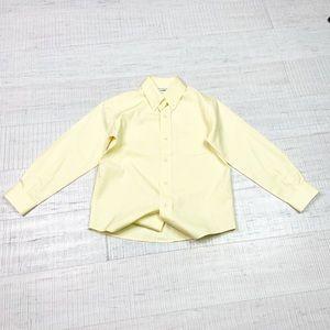 Talbots Kids size 5 pastel yellow shirt